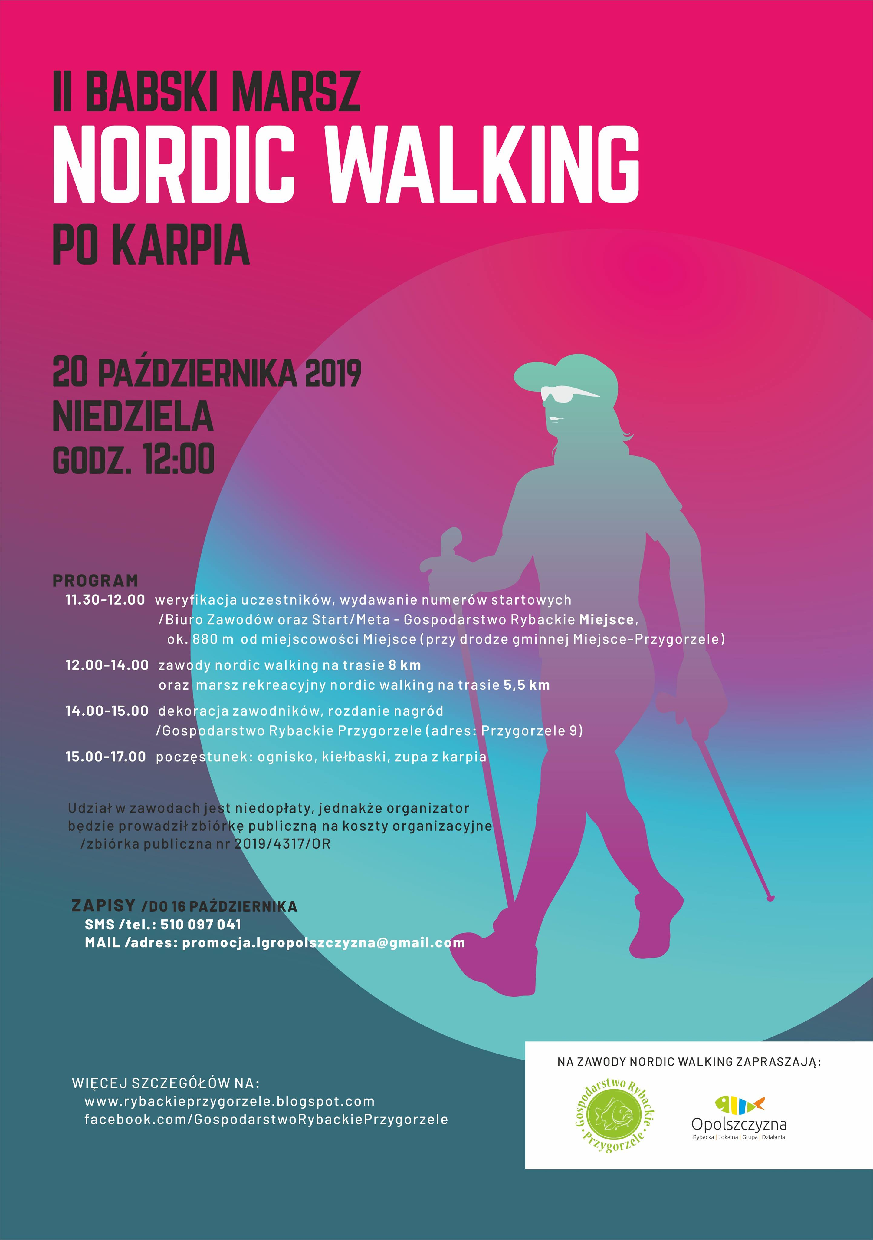 plakat Nordic Walking